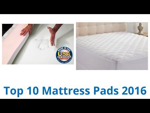 10 Best Mattress Pads 2016
