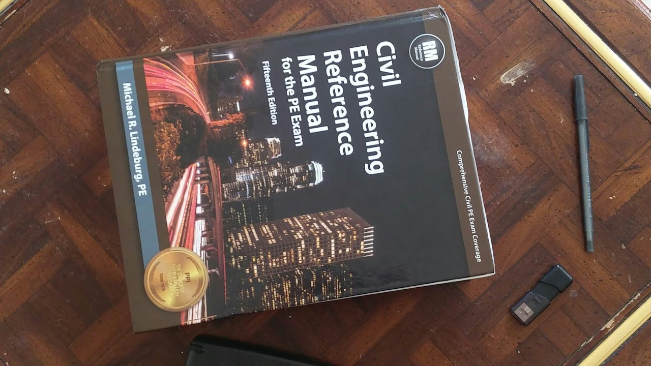 Review: Civil Engineering Reference Manual for the PE Exam by Lindeburg