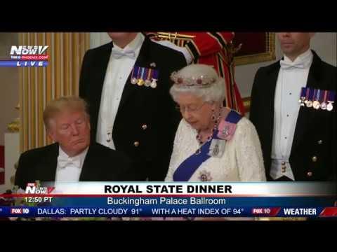 STATE DINNER: President Trump - Queen Elizabeth II Remarks