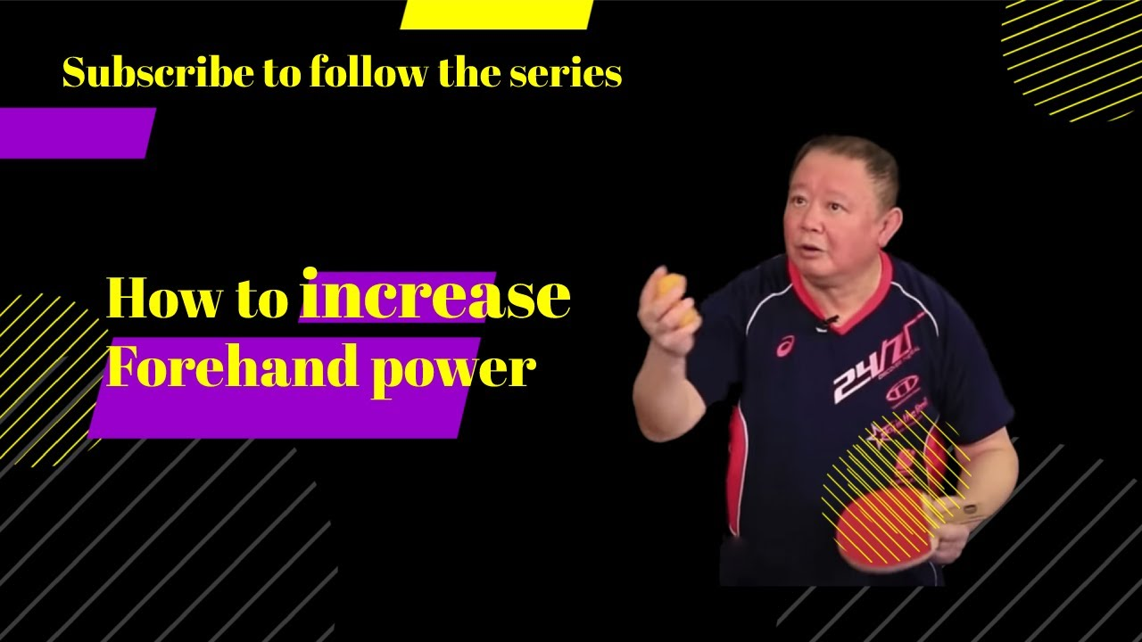 How to increase forehand power?