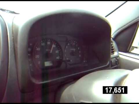 Mazda Laputa  - разгон до 100 км/ч