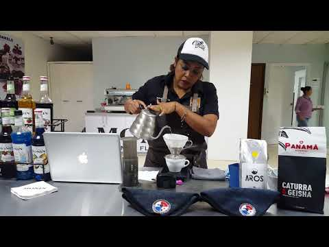 barista panama coffee School
