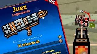 RECORDANDO el JUEZ en PIXEL GUN 3D esta arma la quitaron del juego