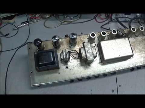 #89 1965 Fender Black Face Deluxe Reverb Tear Down and Review