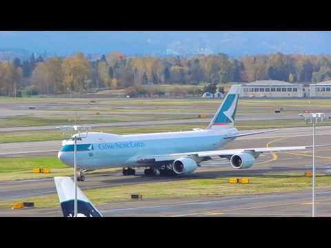 Cathay Pacific Cargo |Boeing 747-8F| takeoff