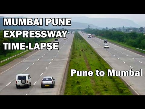 Mumbai Pune Expressway Full Time-Lapse Journey from Pune to Mumbai.!!