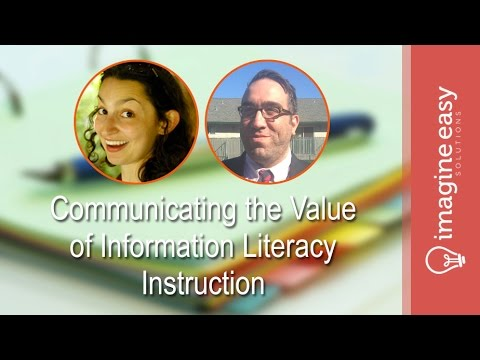 PD Series: Communicating the Value of Information Literacy Instruction