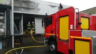 Souprosse (Landes): incendie à l'usine Dupérier, producteur de foie gras
