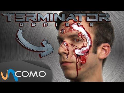 Maquillaje de Terminator Genesis