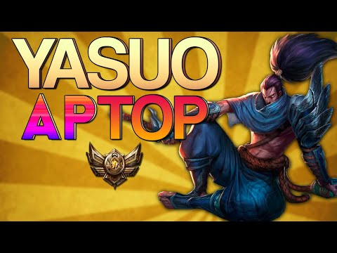 Vidéo d'Alderiate : [FR] AVENTURES BRONZE V - YASUO AP TOP