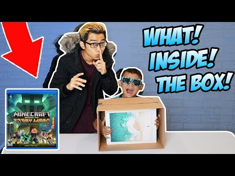 SURPRISING MY LITTLE BROTHER WITH *NEW* IPAD PRO MINECRAFT LIMITED EDITION!