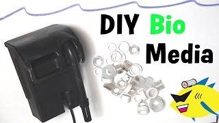Diy bio ball media for Homemade bio filter media
