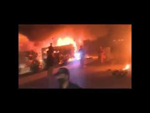 Quetta 12 augst 2017 blast near pishin stop..