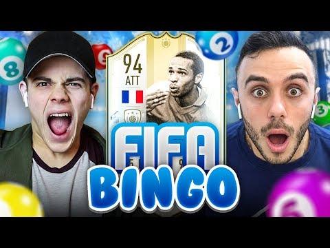 🎱 FIFA BINGO con ICON MOMENTS!!! Enry Lazza vs Fius Gamer   FIFA 19 ITA