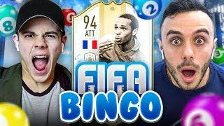 🎱 FIFA BINGO con ICON MOMENTS!!! Enry Lazza vs Fius Gamer | FIFA 19 ITA