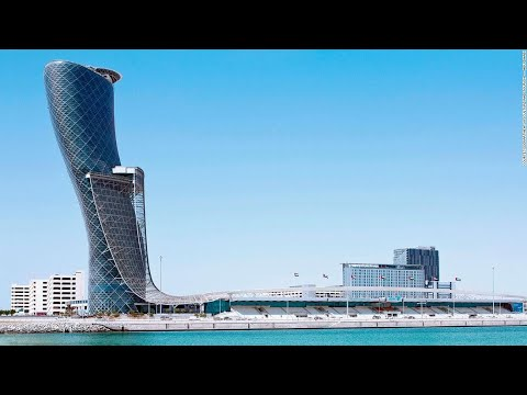 Capital Gate, Abu Dhabi - Megastructures: Leaning Tower of Abu Dhabi - UAE Engineering Documentary