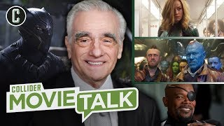 Martin Scorsese Has Even More to Say About Marvel - Movie Talk