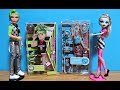 Monster High Fashion Packs Doll Outfits Frankie Stein & Deuce Gorgon Clothes Unboxing Toy Review