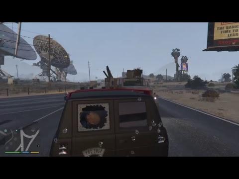 GTA V l Michael Highway Robbery