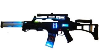 Homemade G36 Coilgun Future Energy Weapon Model