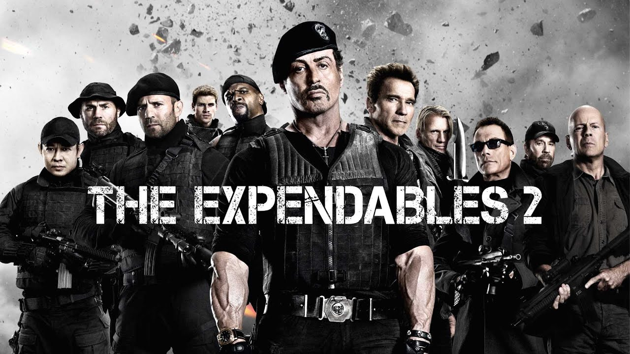 The Expendables 2 Kinox