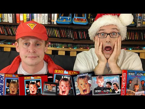 Home Alone Games with Macaulay Culkin - Angry Video Game Ner