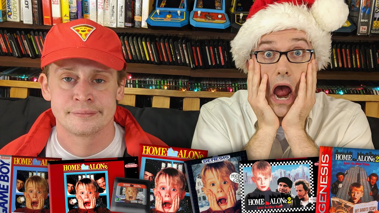 Home Alone Games with Macaulay Culkin - Angry Video Game Nerd (Episode 164)