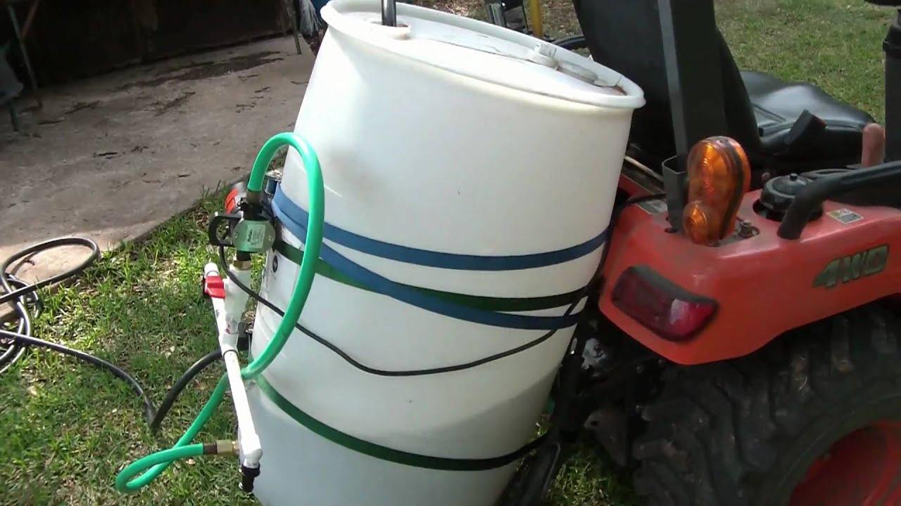 DIY Tank Sprayer