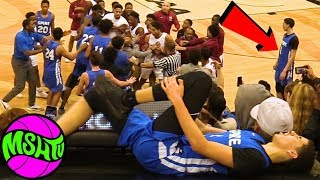 LaMelo Ball GETS HURT AFTER CRAZY FIGHT - Melo's Best Dunks of the Season?