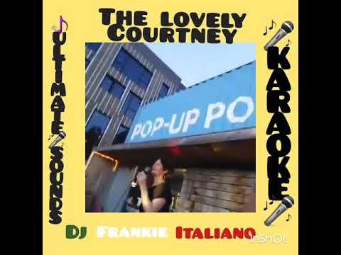 "The Lovely Courtneyv singing  ""Faith"" with DJ Frankie Italiano At Brooklyn Bridge Park Karaoke"