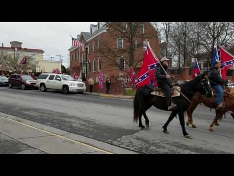 Lee Jackson Day March Through Lexington Va