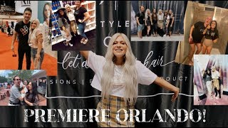 MY SALON WENT TO PREMIERE ORLANDO AND IT GOT CRAZY!