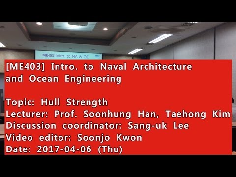Introduction to Naval Architecture and Ocean Engineering : Hull Strength