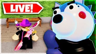 FINDING EASTER EGGS, SECRET ENDINGS, NOTES - PIGGY STORE MAP | 🔴 Roblox Piggy Book 2 Chapter 2 LIVE
