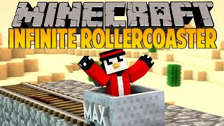 minecraft infinite rollercoaster custom command