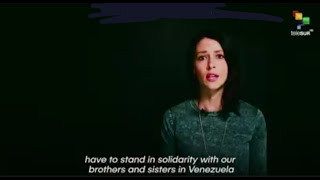 Abby Martin: We Need Your Voice to Speak Up Against Another U.S. War for Oil We need your voice to speak up against another U.S. war for oil. With Abby Martin from The Empire Files #Venezuela #Oil An Ocean of Lies on Venezuela: Abby ..., From YouTubeVideos