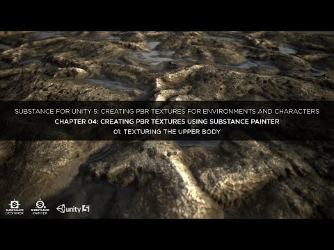 Substance for Unity: Chapter 04-01 Texturing the Upper Body