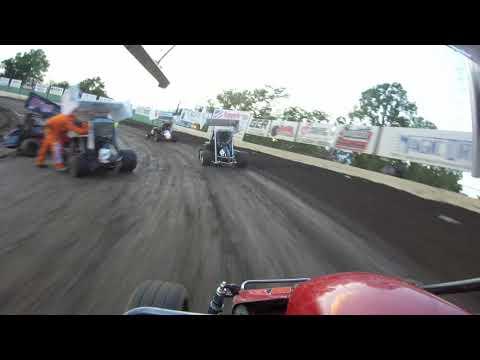 Port City Raceway 8-24-19 Sportsman Heat Race - BRE