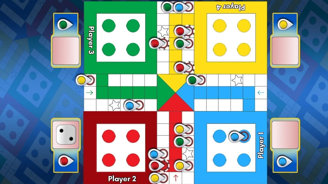 Ludo King 4 Player Match. Ludo King. लूडो किंग.