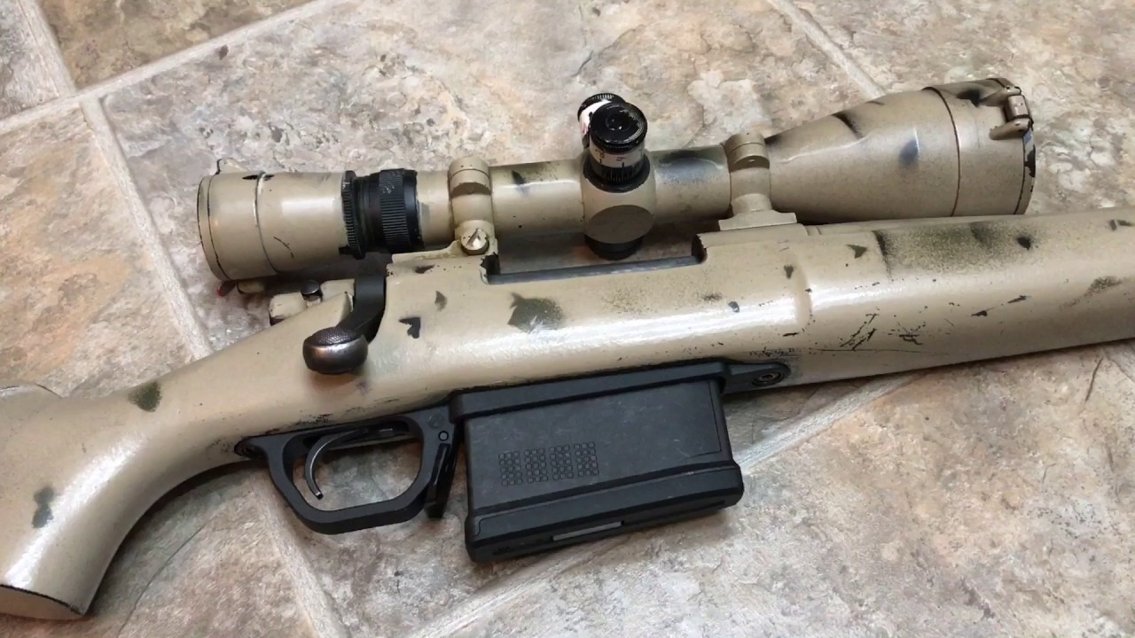 Magpul 700 Long Action Magwell In Sendero Stock Youtube