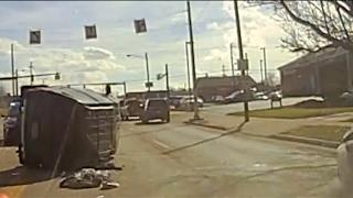 Brooklyn police chase dash camera
