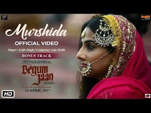 Murshida full Audio Song    Begum Jaan Songs    Arijit singh