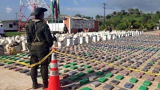 کشف و ضبط بیش از هشت تن کوکایین در کلمبیا