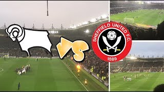DERBY VS SHEFF UTD HOME VLOG ~ NOT AT IT TODAY!!!!