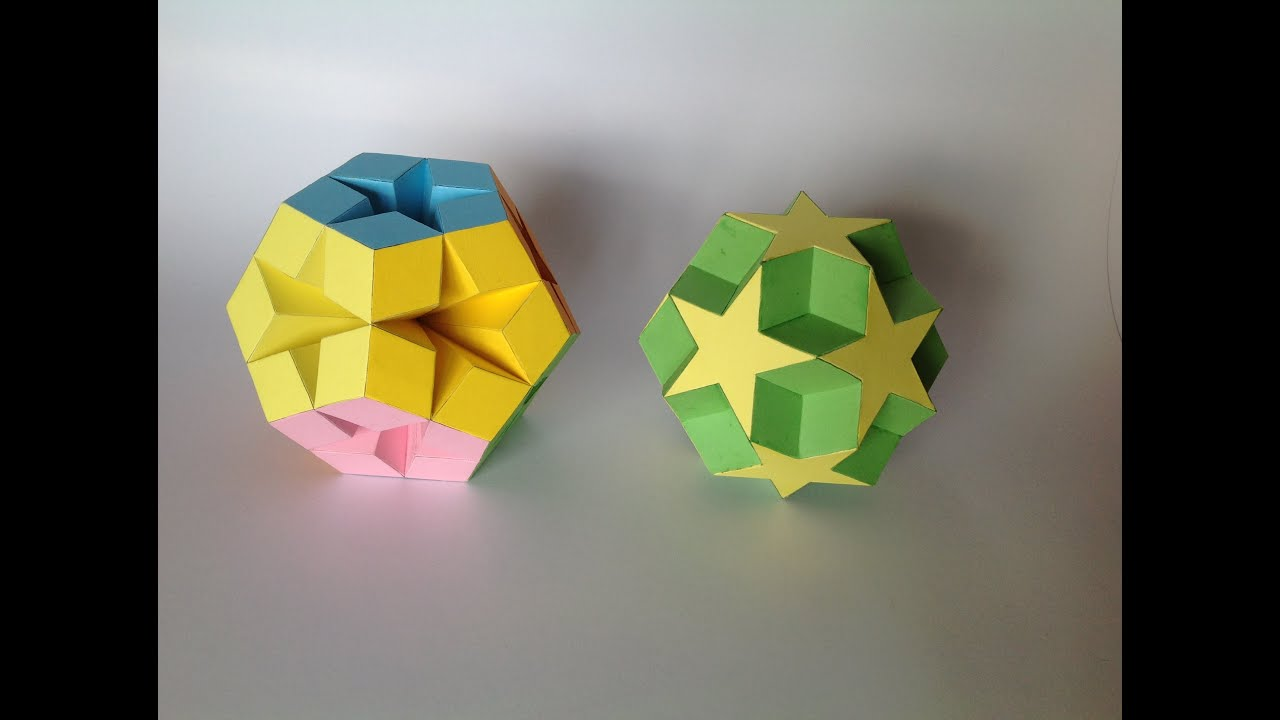 paper models of polyhedra Art-deco paper models of stellated polyhedra, by merrill 30 computers forrest mccluer makes polyhedral sculptures out of discarded electronics a common way of making models of polyhedra is to unfold the faces into a planar pattern, cut the pattern out of paper, and fold it back up.