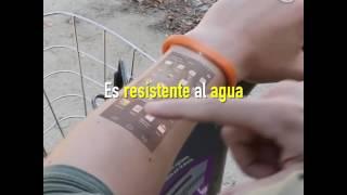 Cicret: La pulsera que transforma tu brazo en una pantalla