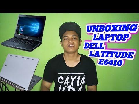 UNBOXING LAPTOP DELL LATITUDE E6410