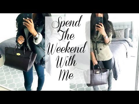 SPEND THE WEEKEND WITH ME | H&M HAUL, SHOPPING, SPEAKING AT AN EVENT & CLUBBING #MINDSETHACK