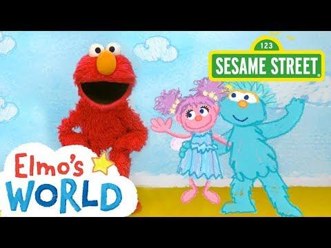 Sesame Street: NEW Elmo's World: Friends   FULL Segment
