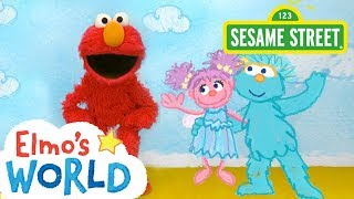 Sesame Street: NEW Elmo's World: Friends | FULL Segment